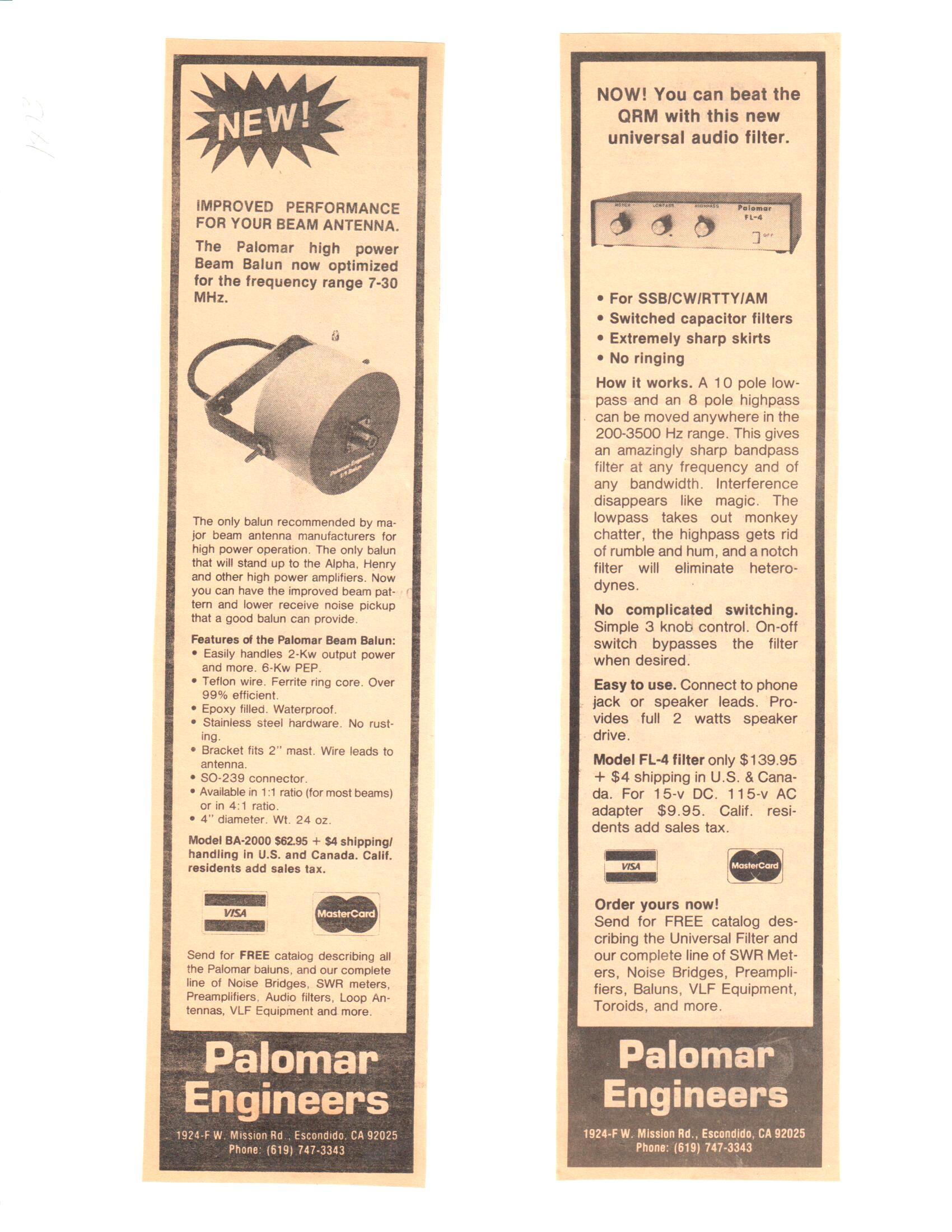 Downloads - Palomar Engineers®