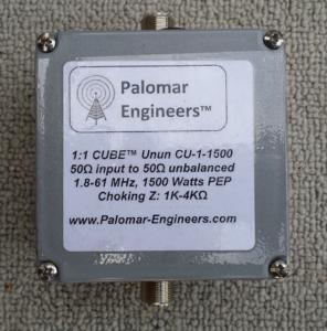 CU 1 1500 Product 1 296x300 - Coax Feed Line Common Mode Chokes (1:1)