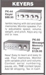 PK-44 PK-50 Keyers
