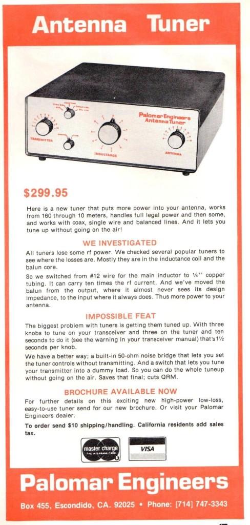Palomar Antenna Tuner HR Jan 1980 Cropped 488x1024 - PT-2500 Antenna Tuner