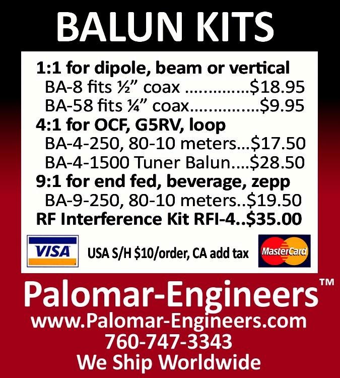 Current Ads - Palomar Engineers®